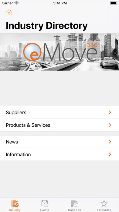 Image of eMove360° for iPhone