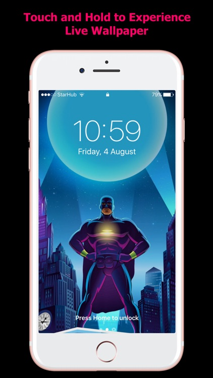 HD Live Wallpapers for iPhones