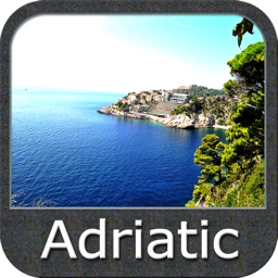 Boating Adriatic Sea South East GPS Map Navigator