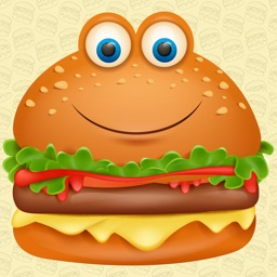 Animated Burger Emoji Stickers