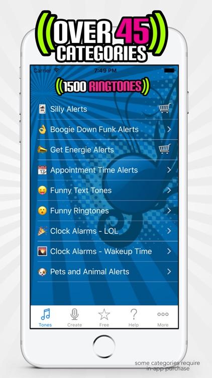 1500 Ringtones & Alerts screenshot-4