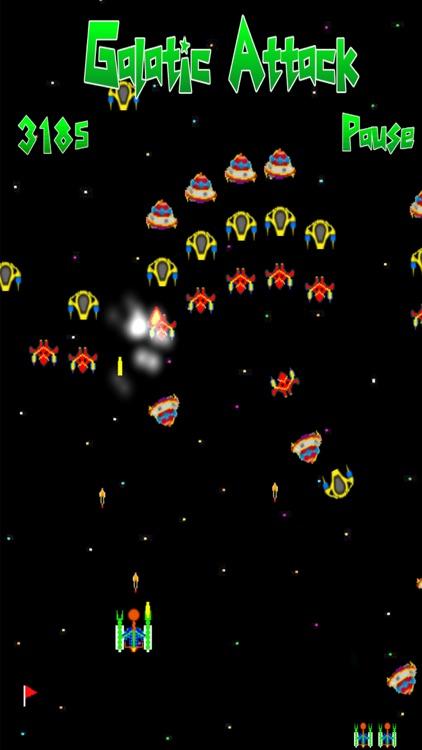 Galatic Attack Pro screenshot-3
