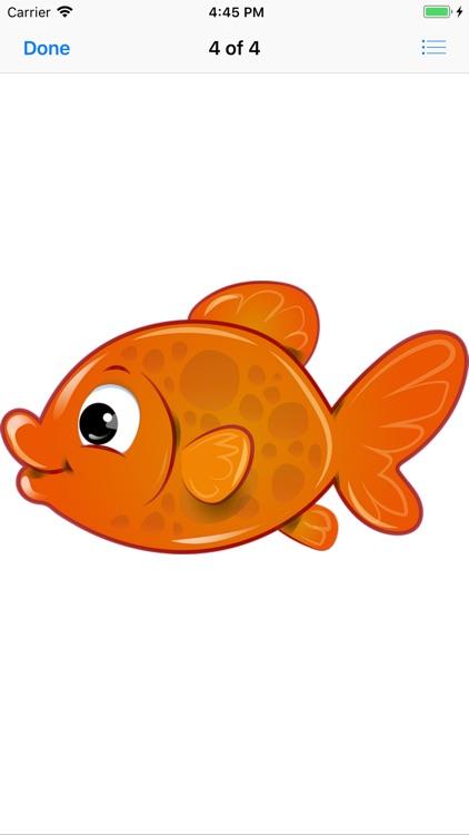 Glorious Goldfish Stickers screenshot-5
