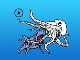 Animated Octopus Sticker