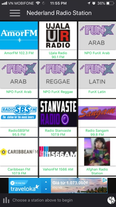 Nederland Radio Station screenshot one
