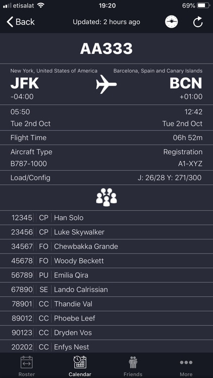 SkyCrew - Airlines Roster screenshot-3