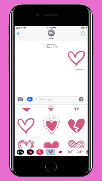 Screenshot for Hearts for valentine's day in Viet Nam App Store