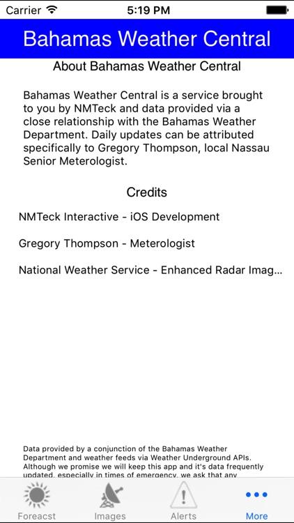 Bahamas Weather Central screenshot-3