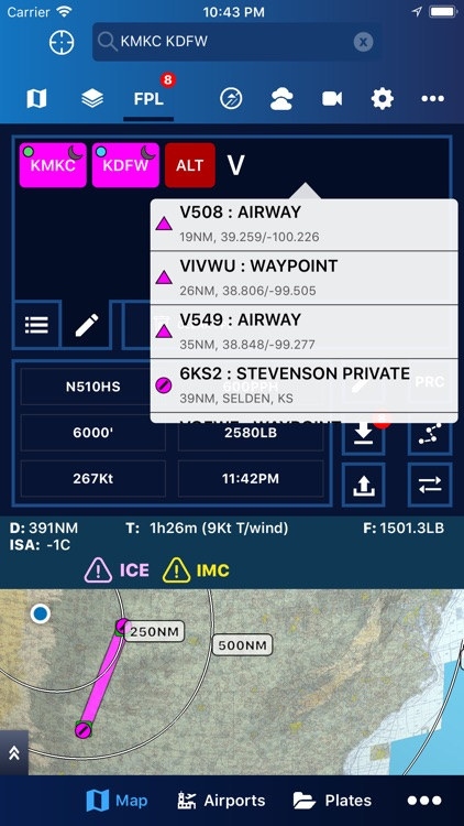 Aerovie, electronic flight bag screenshot-3