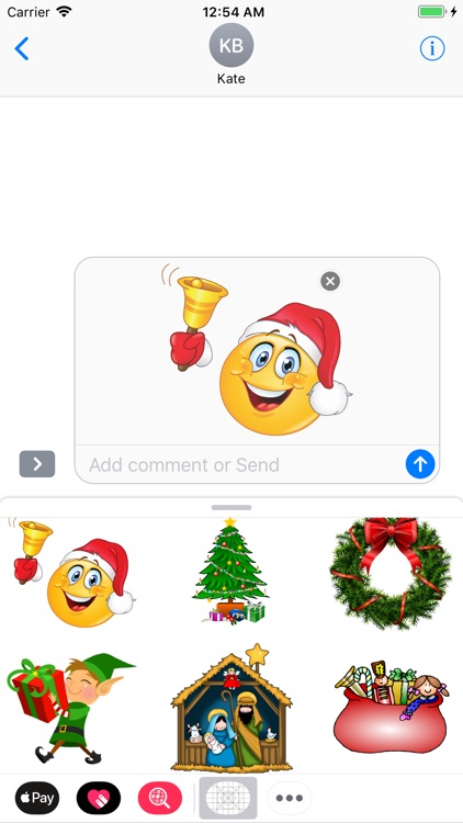 Adorable Christmas Stickers
