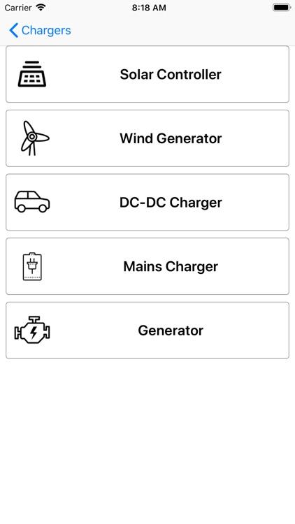 4WD Solar Calculator screenshot-5