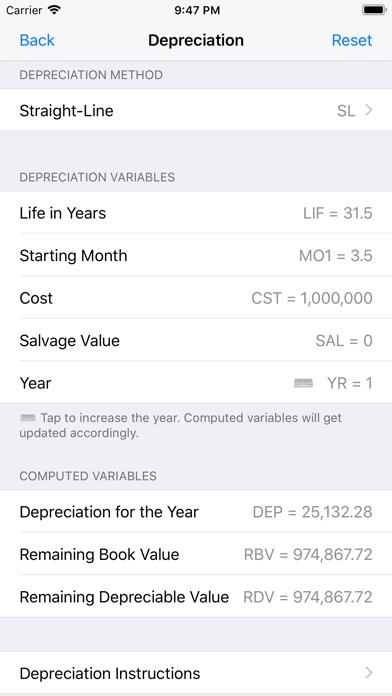 Screenshot for Financial Calculator++ in United States App Store