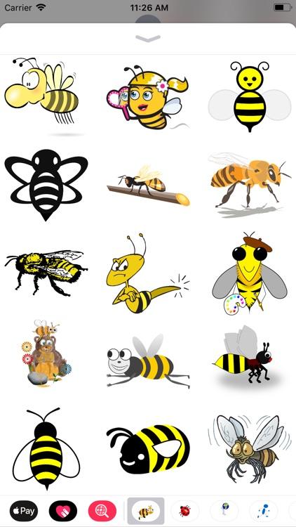 Honeybee Sticker Pack screenshot-3