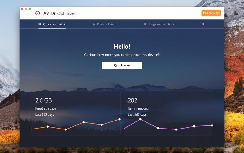 Avira Optimizer Screenshot