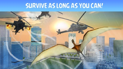 Pterodactyl Dino City Attack Simulator 3D screenshot three
