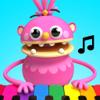 Petoons Piano música para niños y niñas en familia
