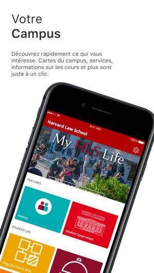 Harvard Law School, DoS dans l'App Store