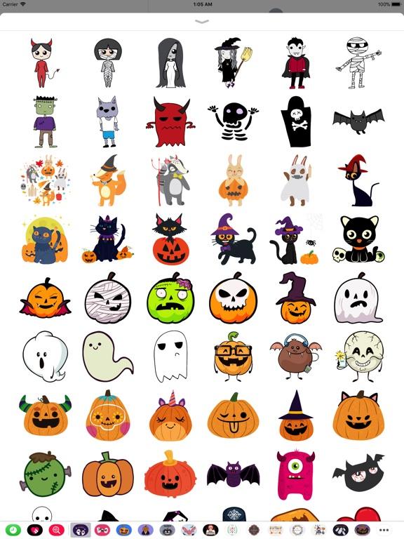 Hand Drawn Cute Halloween screenshot 7