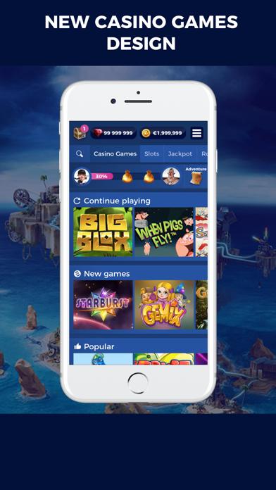 Casino Heroes - Slots, jackpot screenshot two