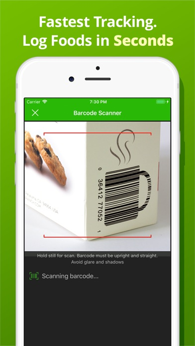 Calorie Counter PRO MyNetDiary Screenshots