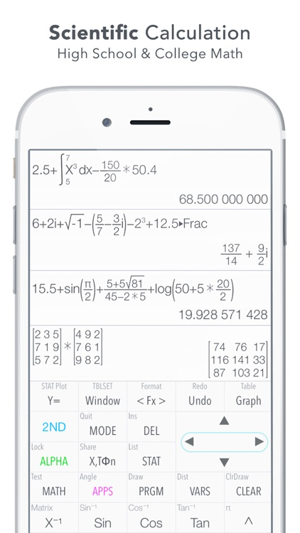 Graphing Calculator Plus screenshot-3