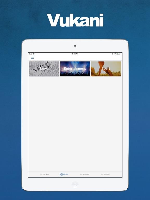 Image of Vukani for iPad