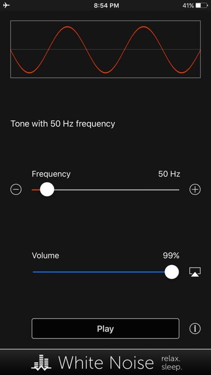 Tone Generator: Audio Sound Hz