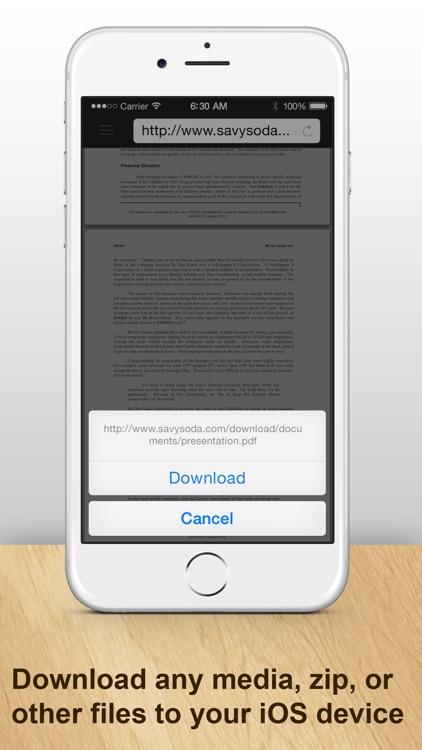 Documents Pro : Office Editor for iPhone & iPad screenshot-4