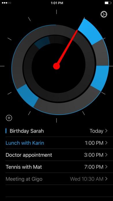 Future - Calendar in a Clock Screenshots