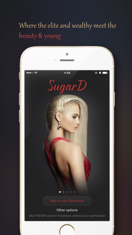 SugarD - #1 Sugar Daddy Dating screenshot-0