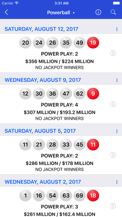 download Lotto Results + Lottery in US apps 2