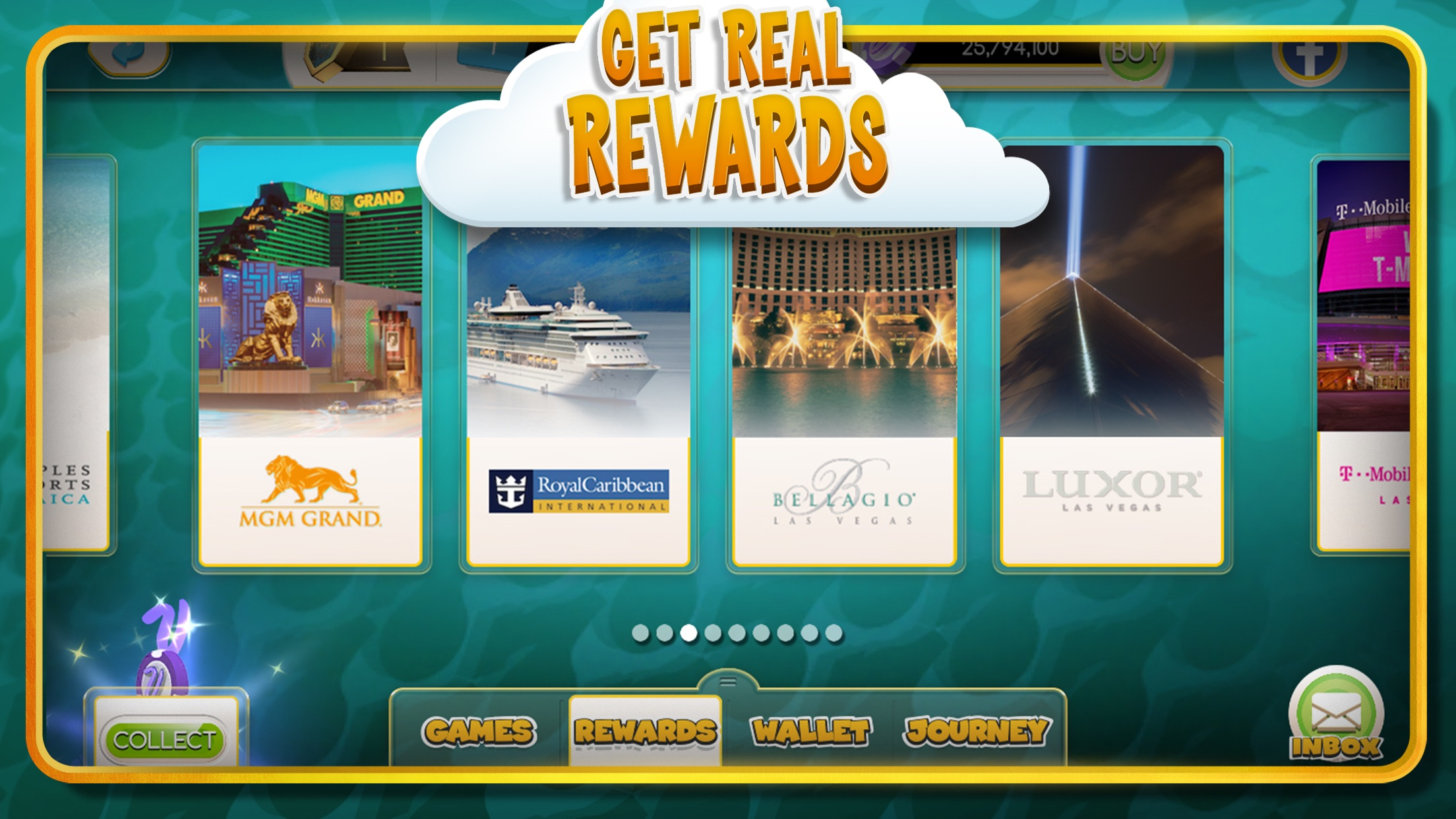 myVEGAS Slots – Casino Slots Screenshot
