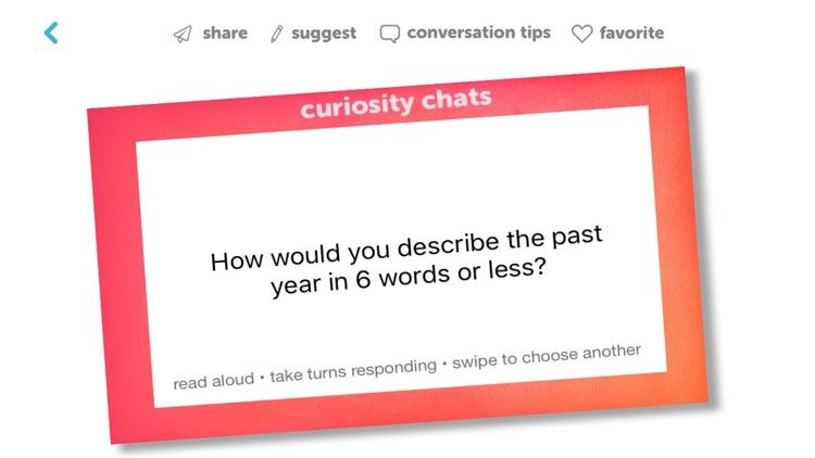 Curiosity Chats