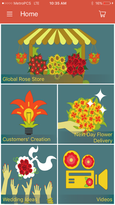 GlobalRose Flowers Delivery screenshot one