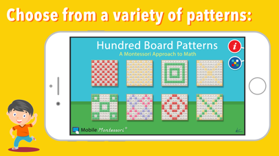 100 Board Counting Patterns screenshot 3