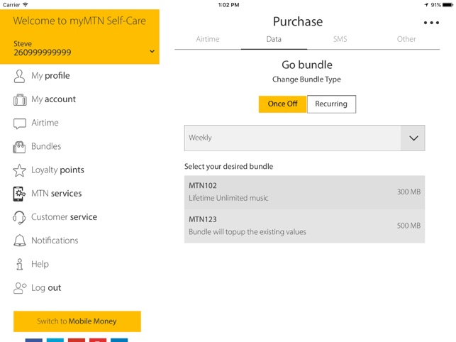 MyMTN on the App Store