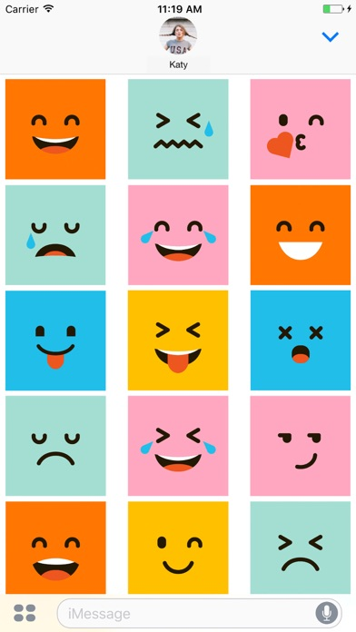 Funny Square Emojis - Weird but lovely
