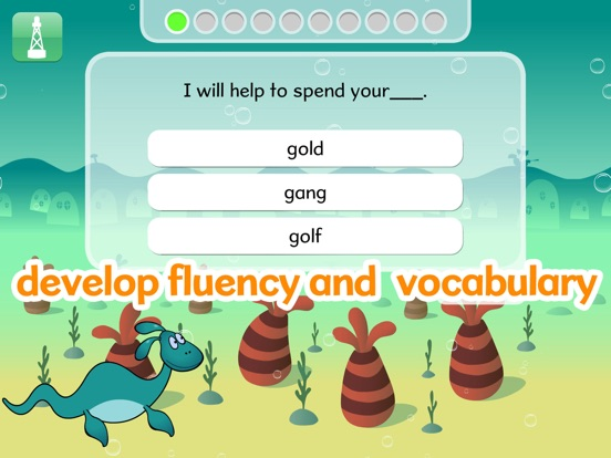 Nessy Reading Challenge Screenshots