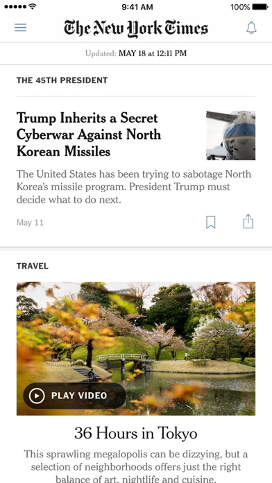 The New York Times ScreenShot0