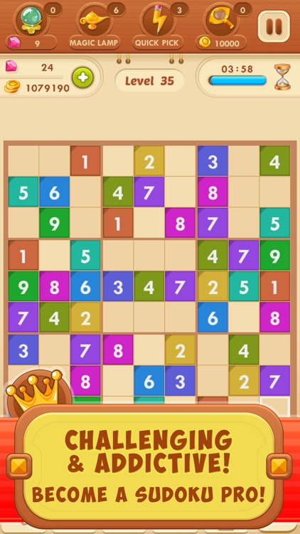 Sudoku Quest Color Number Game screenshot-3