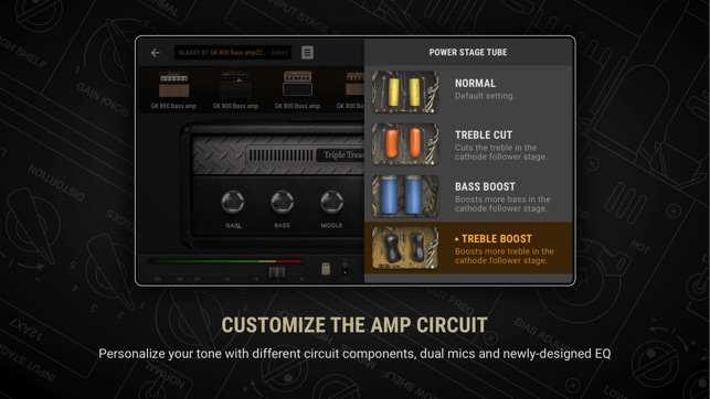 BIAS AMP 2 - for iPhone Screenshot