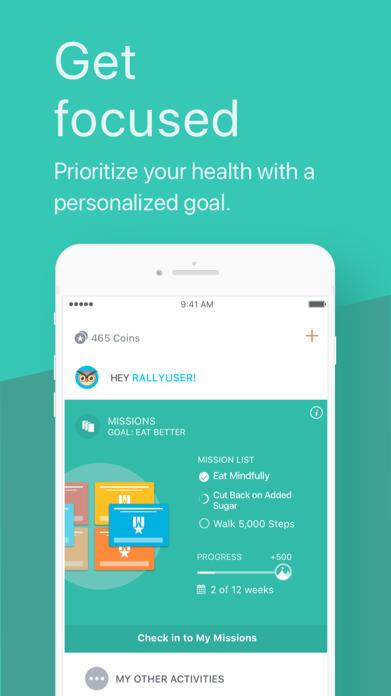 Rally™ by Rally Health Screenshot