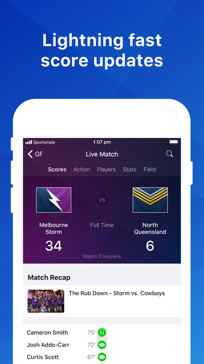 Rugby League Live: NRL Scores screenshot-0