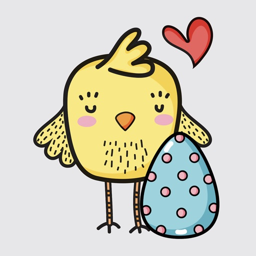 Happy Easter Day Stickers