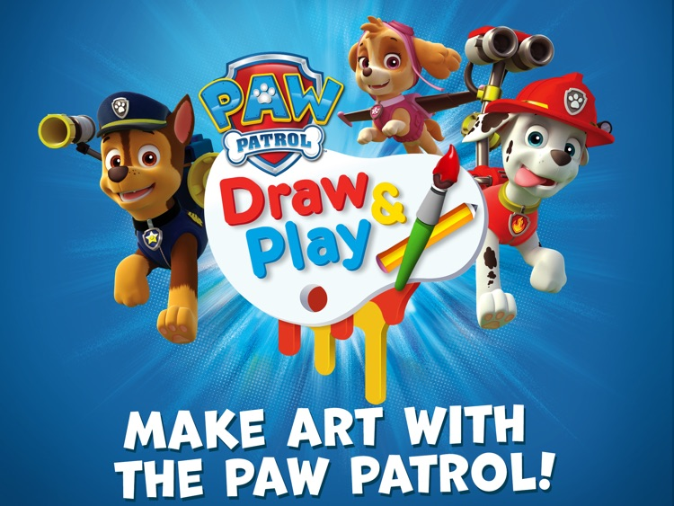 PAW Patrol Draw & Play HD