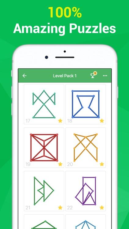 One Line One Stroke Mind Game screenshot-0