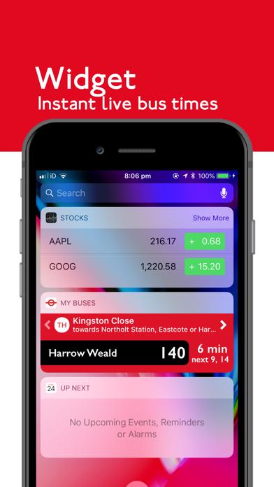 London Bus Times Live screenshot three