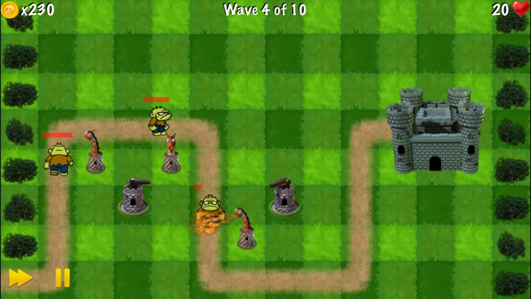 Zombie Tower Shooting Defense screenshot-3