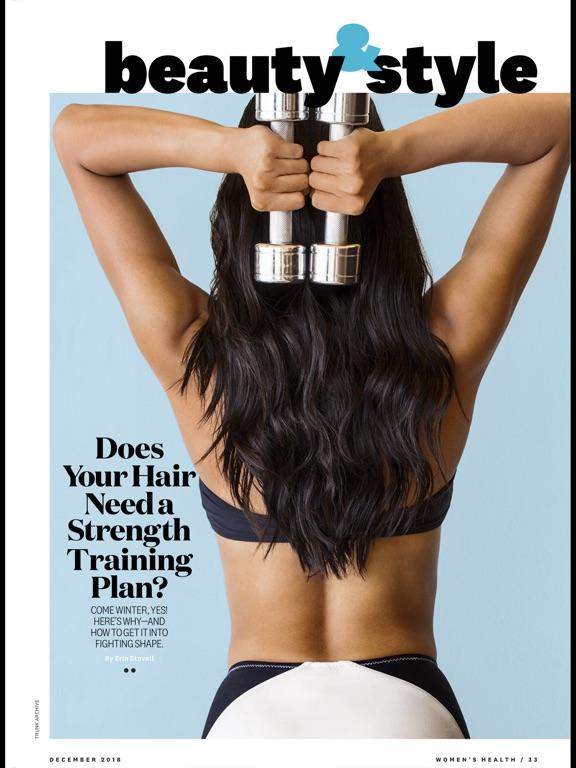 Women's Health Mag iPad