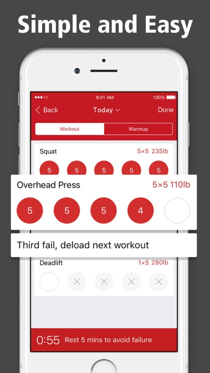 StrongLifts 5x5 Workout Log screenshot-3